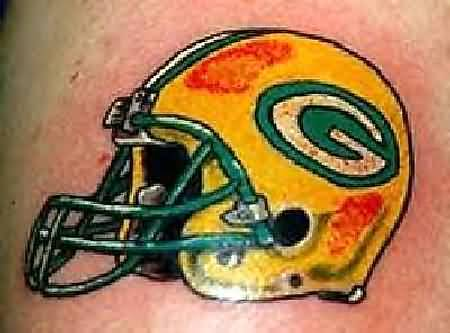 green bay packers helmet cool tattoos gallery of tattoo pictures tattoos pictures of. Black Bedroom Furniture Sets. Home Design Ideas