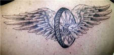 Winged Wheel Cool Tattoos Gallery Of Tattoo Pictures