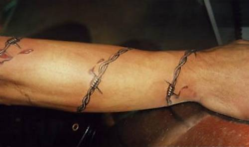 Barbed Wire Wrap-Around