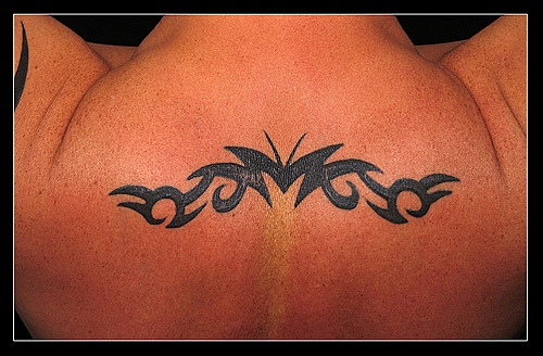 One Line Ascii Art Eyes : Tribal backpiece cool tattoos gallery of tattoo