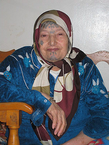 Algerian Face Tattoos