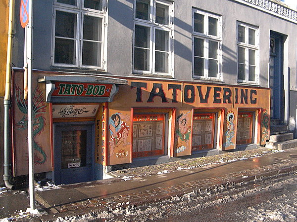 Copenhagen Tattoo shop