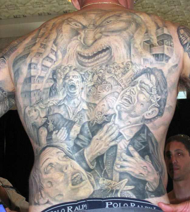 Wrath of God Backpiece